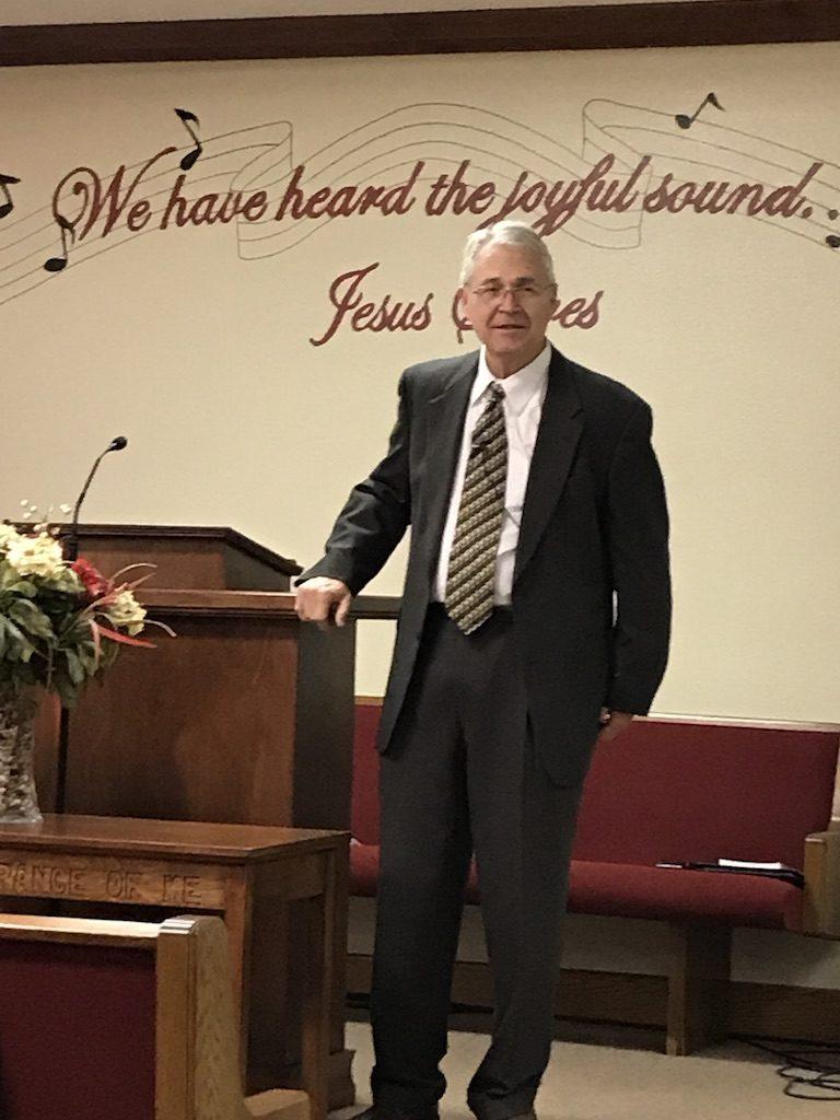 Pastor Evans